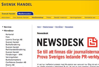 Svensk Handel Newsdesk